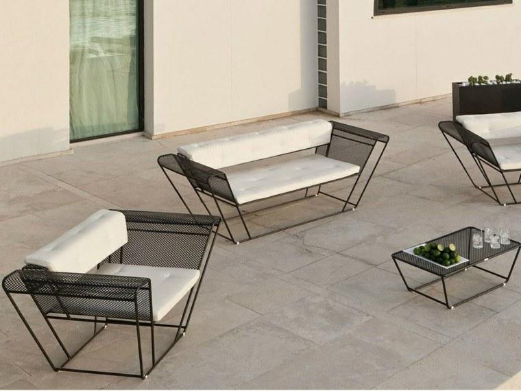 Canap s sof s y sillones 50 ideas para exteriores modernos for Muebles jardin modernos