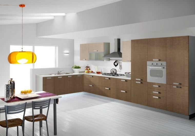 Suelos cocinas modernas awesome santos kitchen diseo - Suelos para cocinas blancas ...
