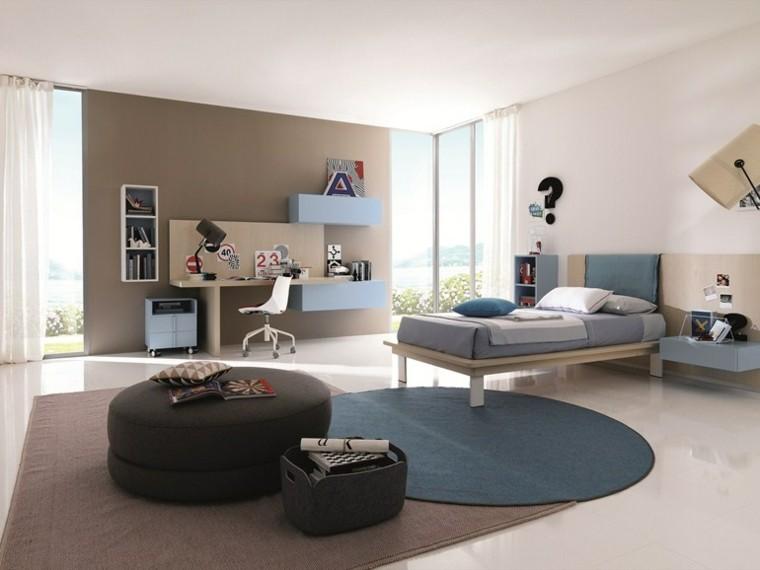 taburete grande dormitorio amplio moderno ideas