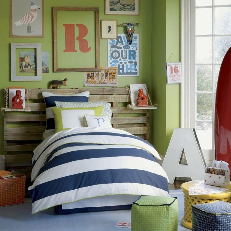 taburetes comodos habitacion nino cojines ideas