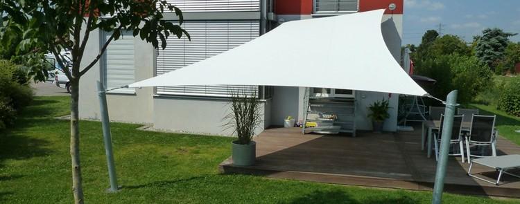 Toldos y parasoles de dise o moderno 50 ideas for Toldos techos para terrazas