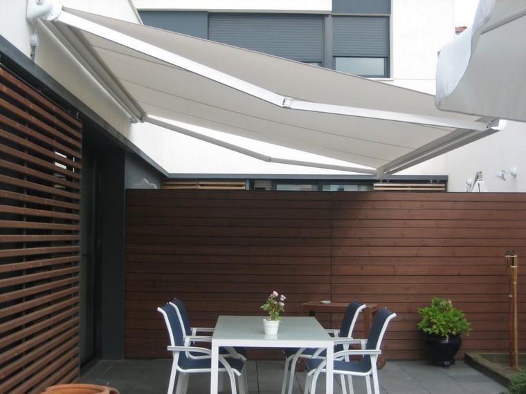 P rgolas jardines terrazas con estilo muy modernas for Techumbres modernas