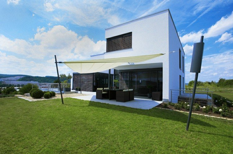 toldo modernos casas diseño porche