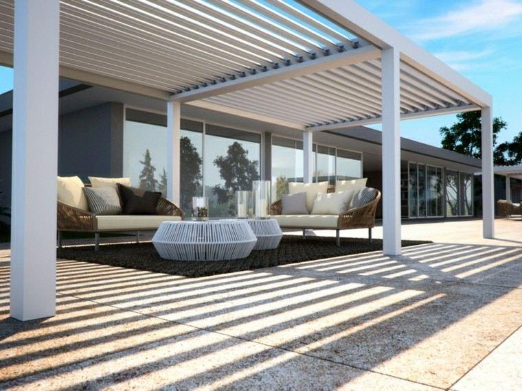 toldos ppérgolas muebles jardin sofas preciosas ideas