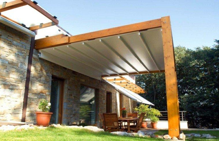 Toldos p rgolas y persianas para protegerte del sol - Toldo de madera ...