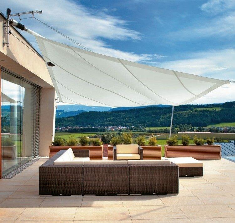 parasoles terrazas diseo moderno