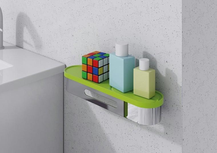 toque color accesorios de baño