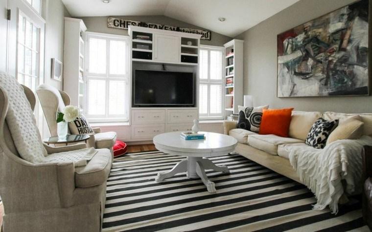 tradicional casa paredes decoradas muebles