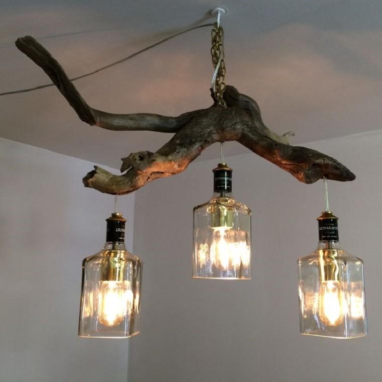 Lamparas dise o y toda la luz de la naturaleza en casa - Como hacer lamparas de techo modernas ...