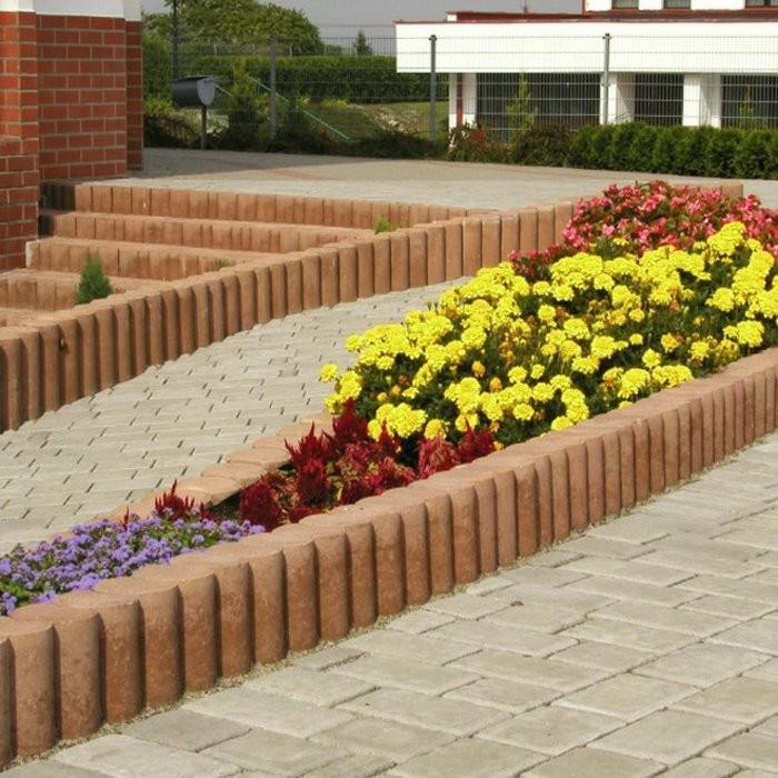 Las Mejores Fotos De Jardines En Pinterest: Vallas De Jardín De Estacas De Madera Empalizadas