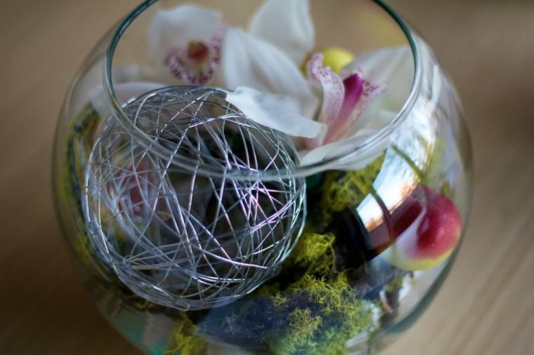 variante tazon esfera alambre musgo