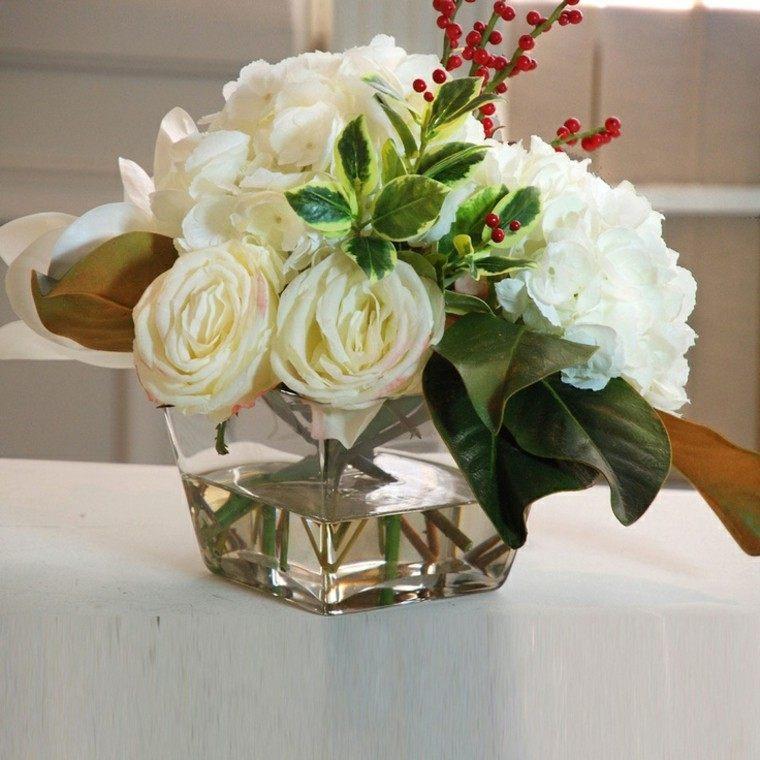vaso agua flores geometrico copioso