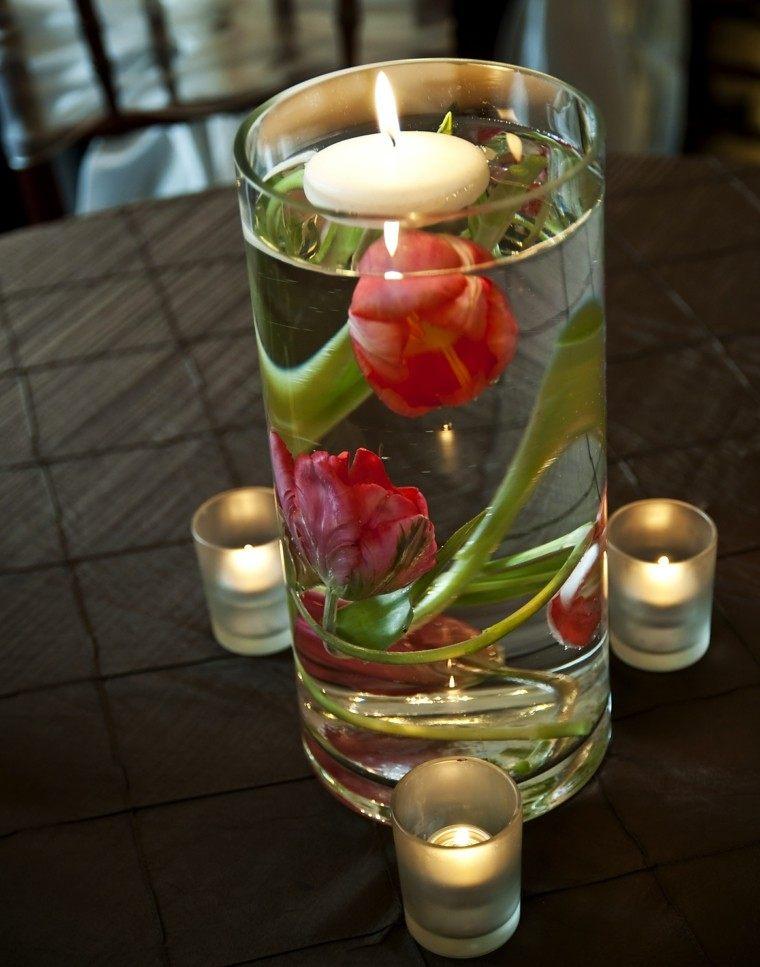 velas agua silla mesa fuego