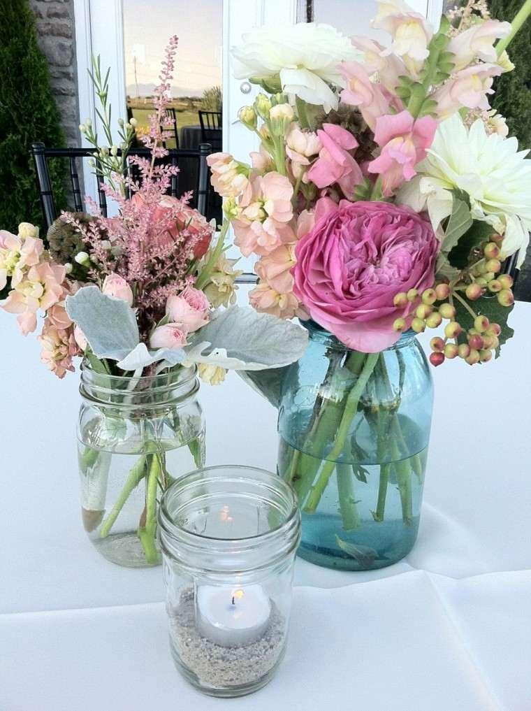 velas bouquet plantas flores celebracion