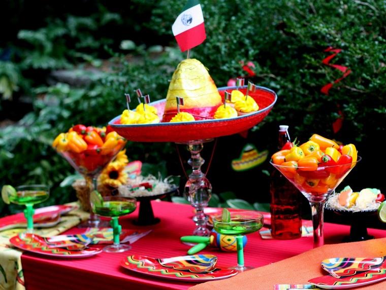 verano origina fiesta sombrero mexico