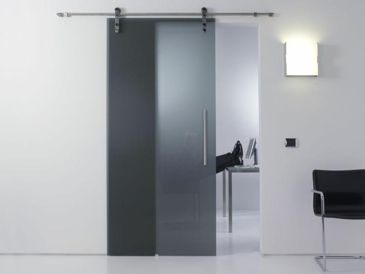 Puerta corredera 50 modelos para un espacio funcional - Puertas salon modernas ...