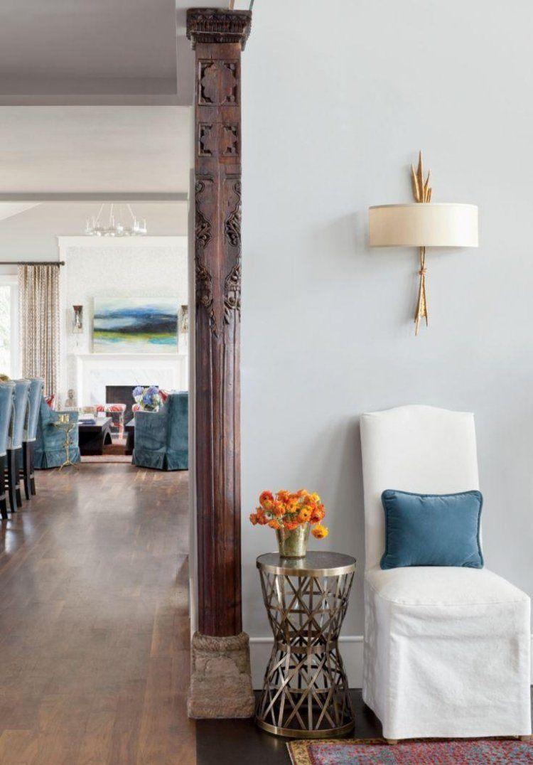 Escultura y arte para la decoraci n de salones y salas de - Como decorar una columna ...