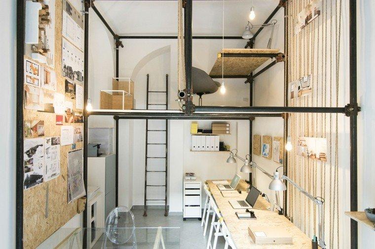 vista foto oficinas interior