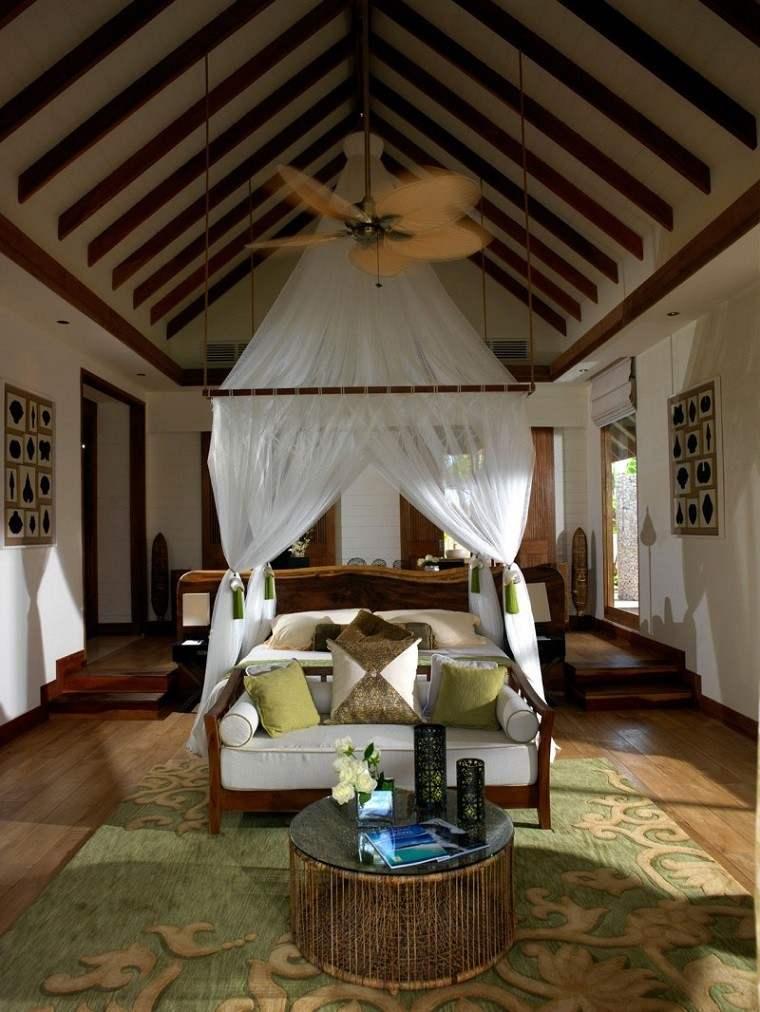 Jumeirah Vittaveli cama dosel dormitorio romantico ideas