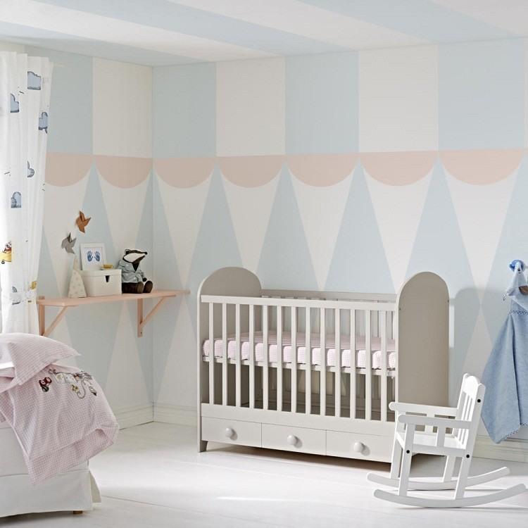 Dise o habitaciones infantiles y paredes de ensue o for Decoracion habitacion de bebe varon