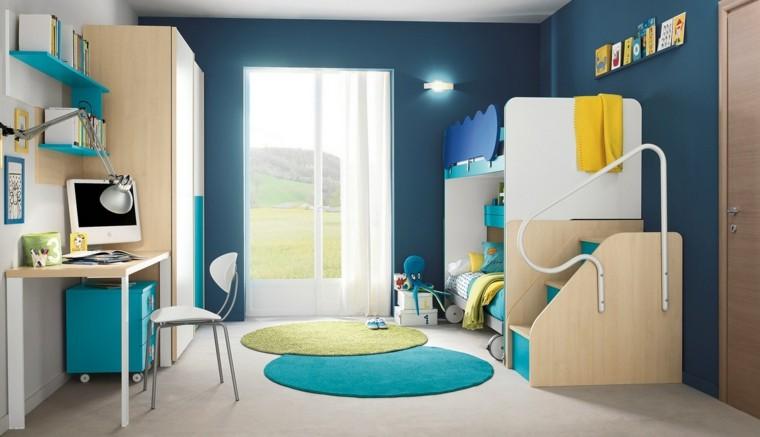 Habitaciones ni o moderno con estilo propio - Muebles de dormitorio de ninos ...