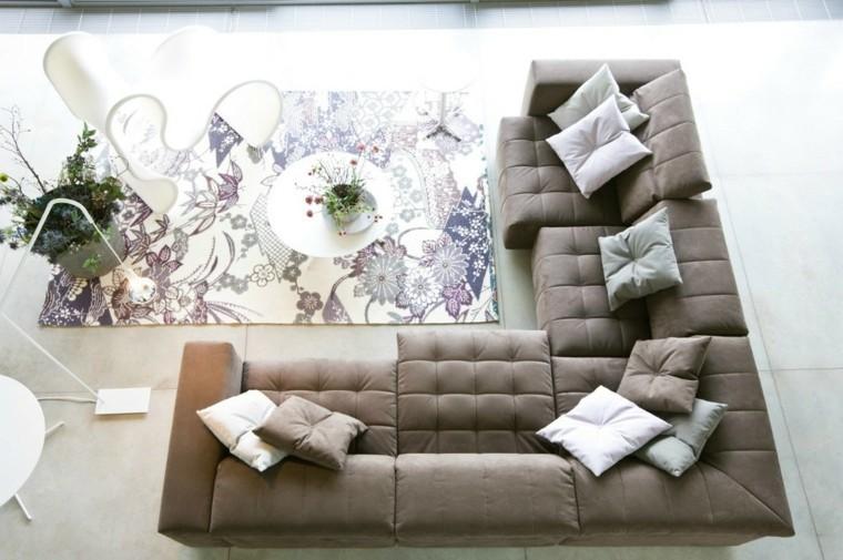 alfombra vintage mesita cafe blanca sofa grande ideas