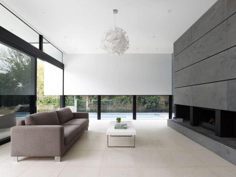Diseño de interiores de casas modernas