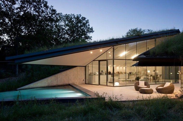 Casa de campo el estilo contempor neo m s natural for Estilos de piscinas modernas