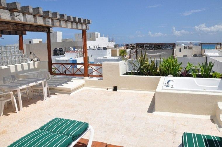 atico terraza diseño estilo marroqui