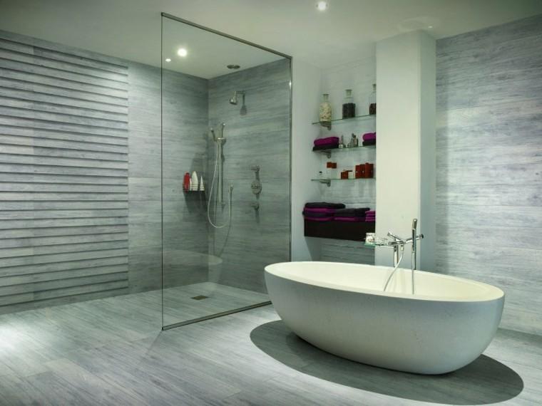 atractivo amplio esquema baño bañera