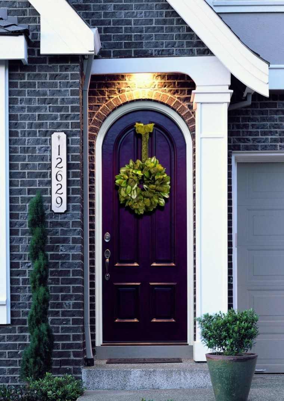atractivo colorido puerta numeros luces