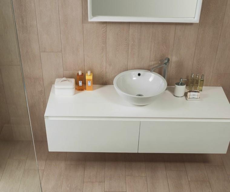 atractivo pequeño pomos cosmeticos lavabo