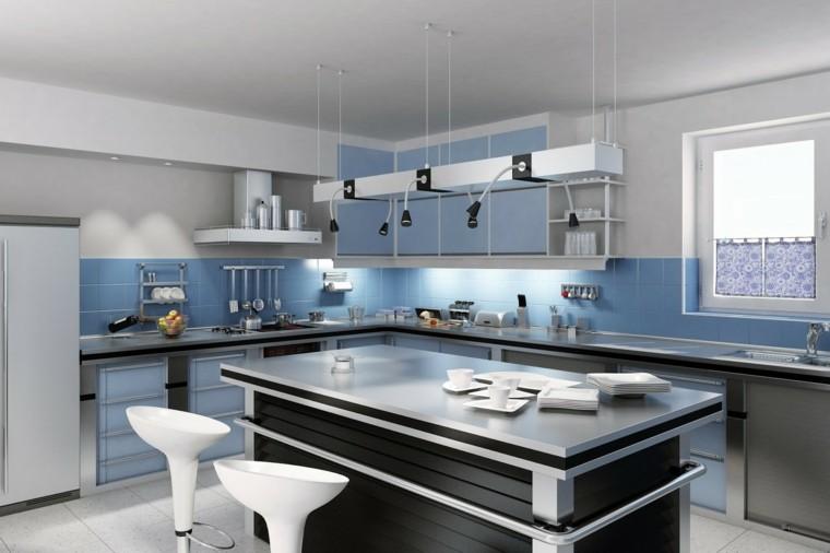 azul interesante diseño exclusivo moderno