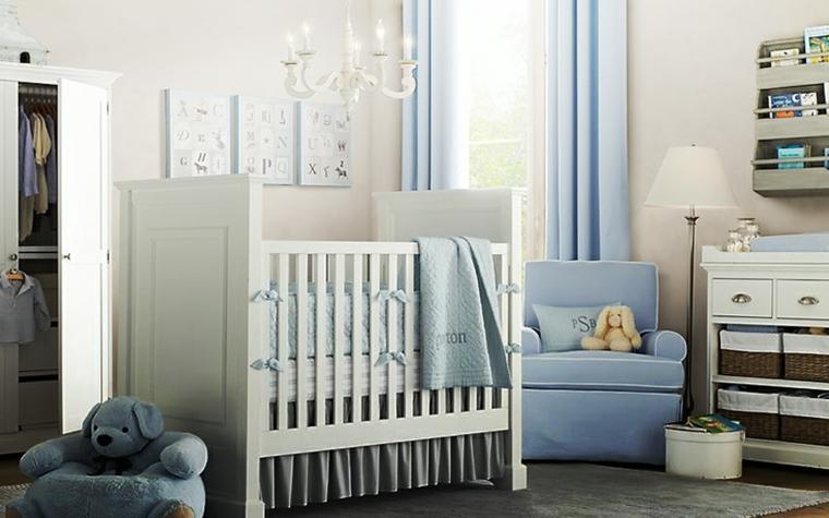 azul varon oso suelo mobiliario