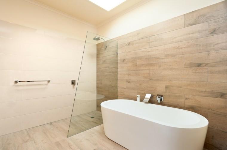 azulejos diseño luminoso baño bañera