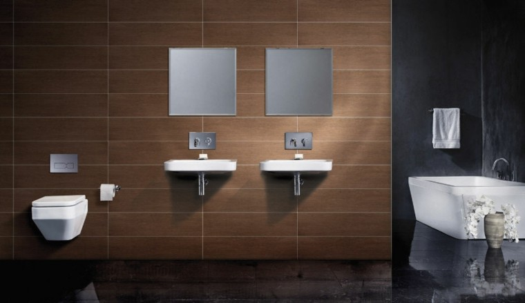 azulejos diseño madera blancos pared