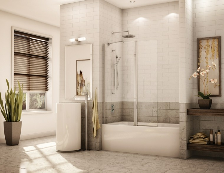 bañera macetero plnatas ventanas decoracion