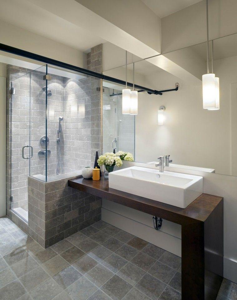 Lamparas Para Baño Easy:Baño decoracion y espacio, la estética de lo funcional