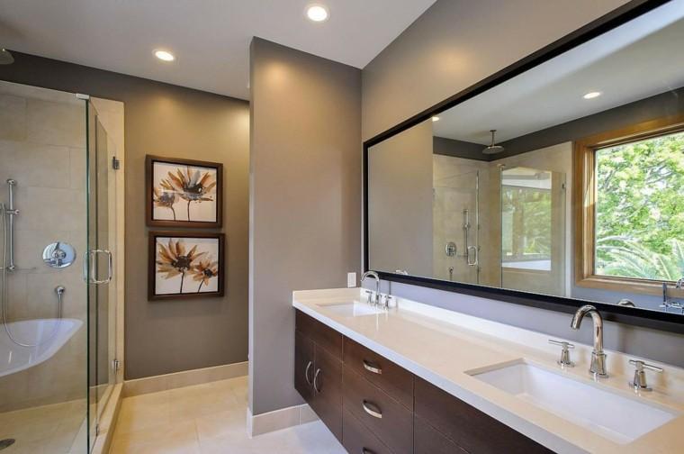 baño moderno cabina ducha bañera
