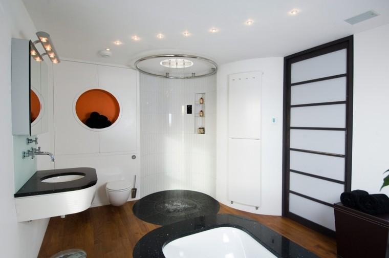 baño panel control ducha automática