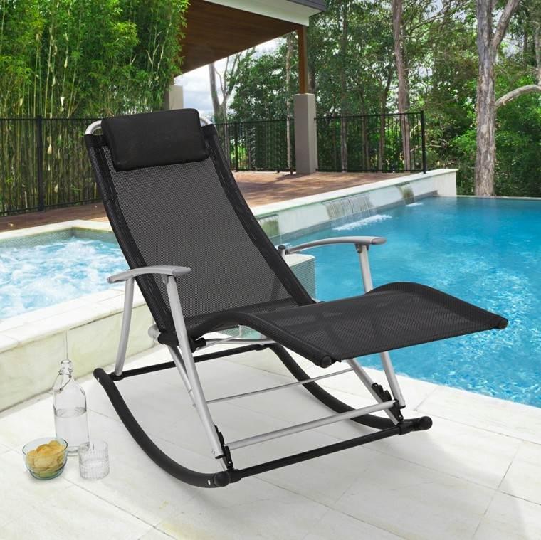 rocking chair modern folding design