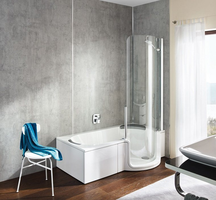 banera ducha diseno estilo moderno