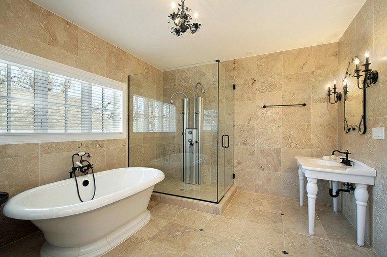 Ba o general en ducha - Cuartos de bano con banera y ducha ...