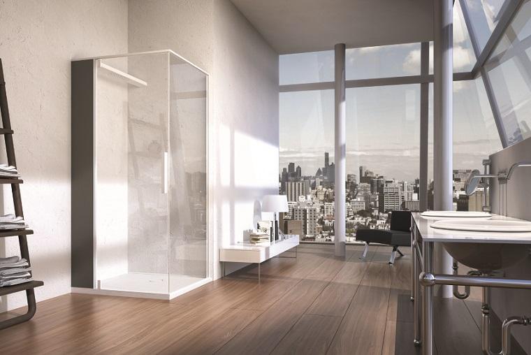 bano ducha estilo minimalista diseno moderno ideas