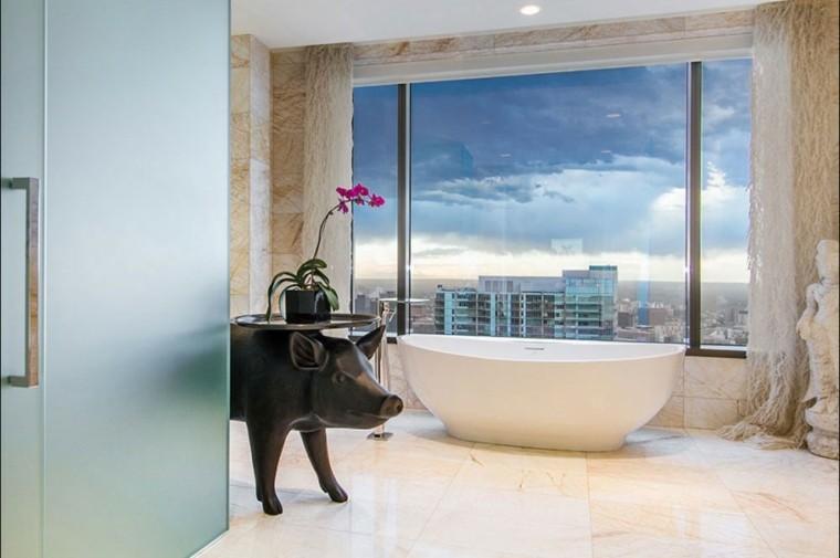 Baño De Lujo Moderno:Diseños de baños de lujo con decoraciones interesantes