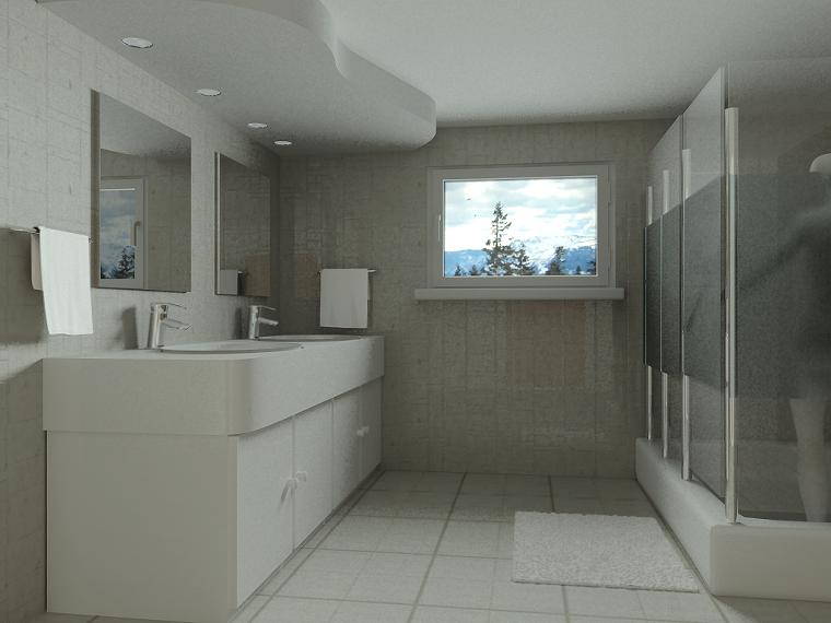 Baño Minimalista Gris:Diseños de baños modernos: 50 ideas insólitas -