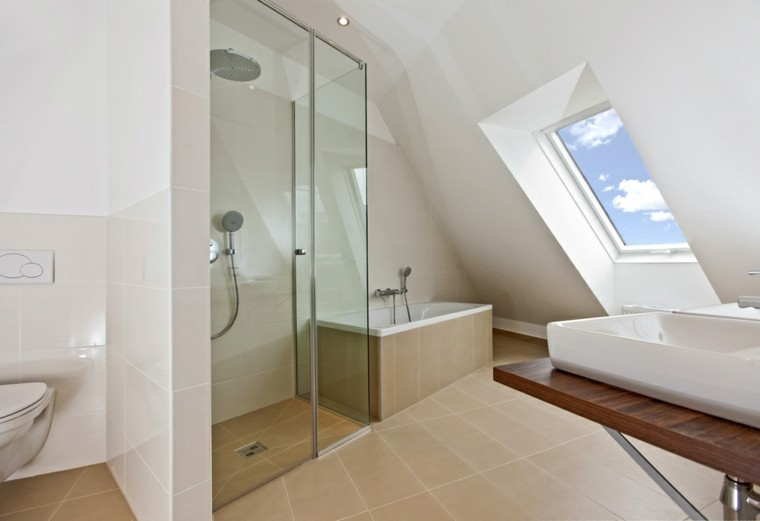 Cuartos de ba o con ducha 25 ideas que impresionan for Baneras banos pequenos