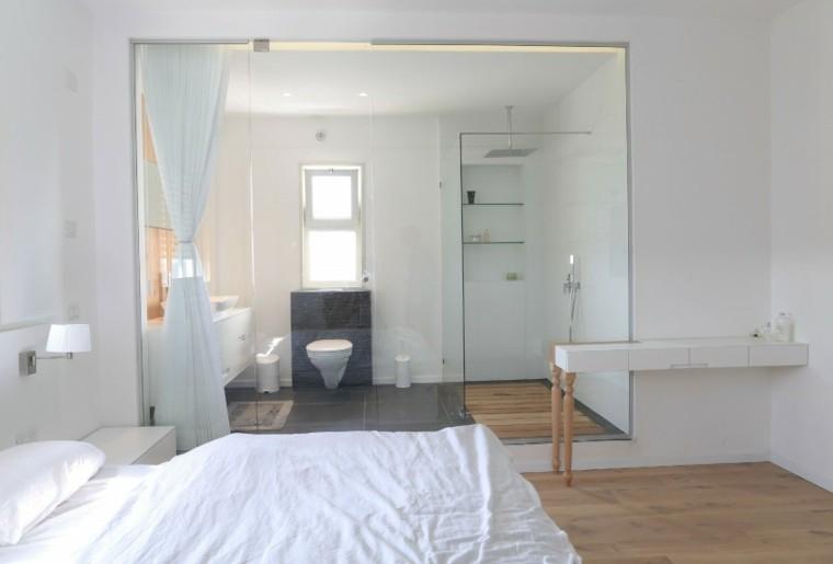banos estilo minimalista moderno abierto-dormitorio ideas