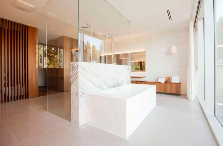 Ba o ideas modernas para renova el cuarto de ba o con for Banos modernos con banera