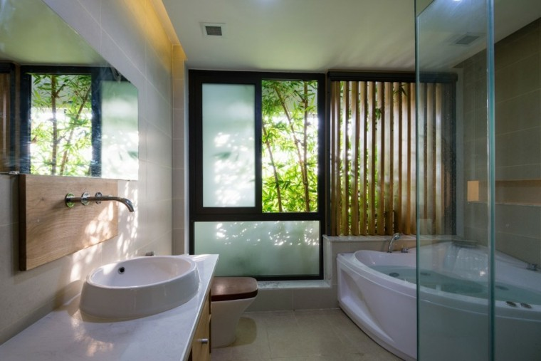 banos estilo minimalista moderno jacuzzi espejo ideas